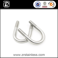 Stainless Steel 316 Bolt U Shape