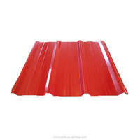 Prepainted corrugated sheet / color coated corrugated steel plate/ roof building material with facroty price