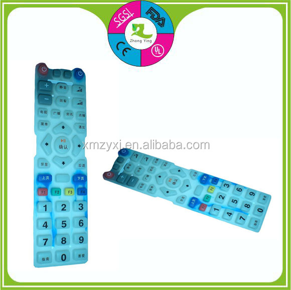 Silicone rubber waterproof Remote Controller Keypad