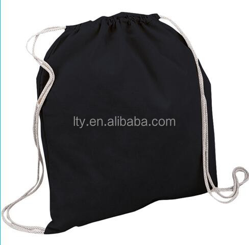 Eco cotton drawstring bag