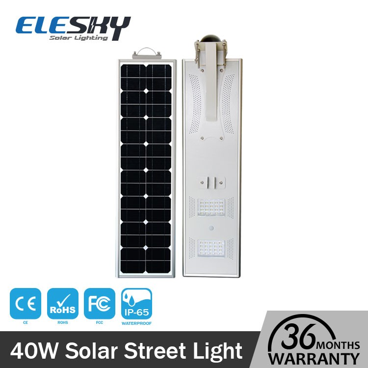 Cheap price direct from factory all in one solar gate post lightings
