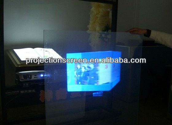 self adhesive rear projection screen film/window of screen