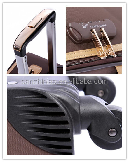 Best quality decent design luggage suitcase trolley bag parts