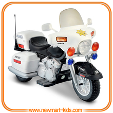 Ride on Kids Police Motorcycle Electric Motorbike 12V Battery Operated Toy Bike