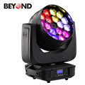 Factory price18x15w rgbw 4in1 bee eye led beam moving head light