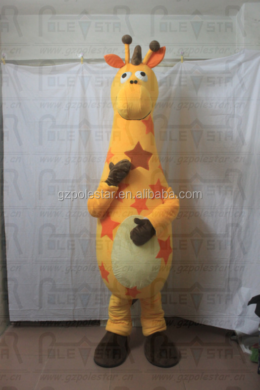 NO.2042 extra large giraffe costumes