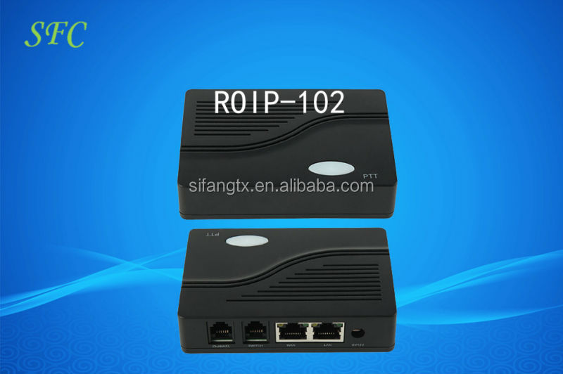 roip 102 cross-network Roip gateway, ptt device