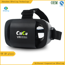Lightest Mini Virtual Reality Movie Game Headset,Smart mobie phone 3D vr glasses for 4.0-6.0