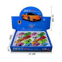 Wholesale diecast 1 64 model toy cars for 16 pcs set with animal style