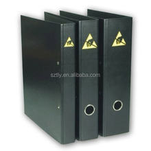 On sotck A4 A5 Black Cleanroom ESD File Folder