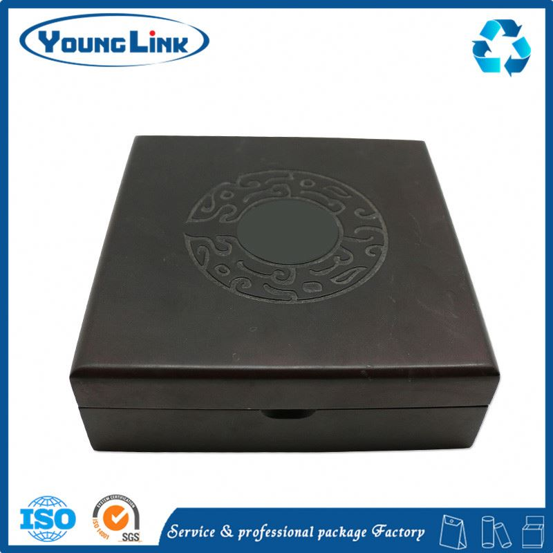 Custom luxury gift engraving packaging wooden box