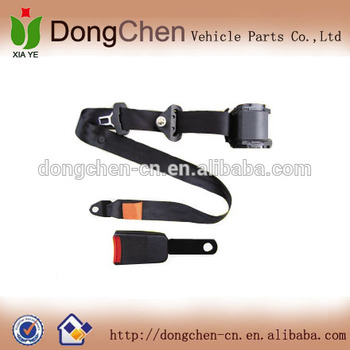3 point retractable safety seat belt for lorry,safety belt with pretensioner function