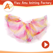 New Fashion summer Style Girl Wholesale Cheap Tutu Skirt Baby Kids Mini Dance Tutu Girls Casual Skirt