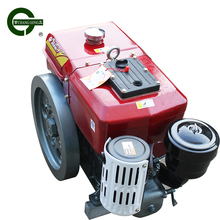 R190A 4hp robin color ce air-cooled recoil starting diesel engine