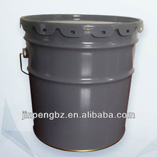 hot sale simple color round 18 liters bucket manufacturer with lid