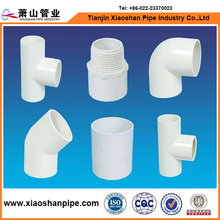 ASTM SCH 40 water pipe pvc fittings for water supply