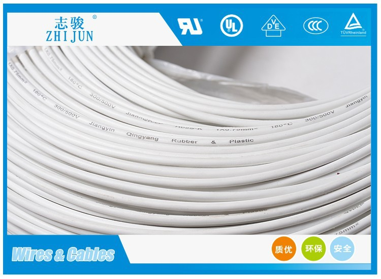 VDE H05S-K single silicone rubber tinned copper stranded wire cable