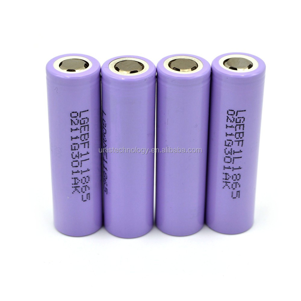 18650 LG F1L rechargeable li-ion battery LG F1L baterry 18650 3.7V 3350mAh LG F1L 18650 battery for latop