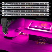 Motorcycle LED Neon Strip Lamp Glow Light RGB 5050 SMD Voice Control Atmosphere