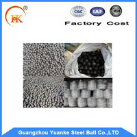 Good quality High and Low Chrome Cast steel griding balls with wear-resistant