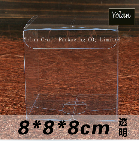 new design hot stamping foil clear PVC PET box packaging
