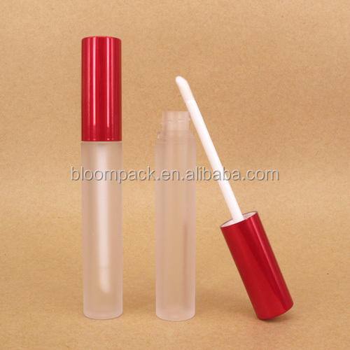 Frosted Bottle Simple Empty Lip Gloss Tube