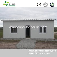 Professional and prctical sandwich panel house 20FT container house container living homes