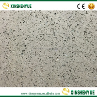 China Cheap Polished White Sparkle Quartz Stone