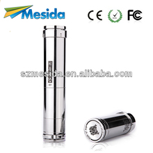 hot sale Mesida 18650/18500/18350 battery Stainless and Brass Mechanical Mod clone Chi You