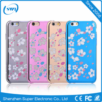 Comma Brand Romantic Series Bloom Design Plastic Case for iPhone 6s & iPhone 6