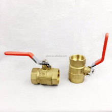 brass ball valve brass body BSPT thread pn16 water medium pressure water type ball valve