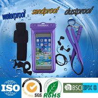 Low price China waterproof mobile phone cases