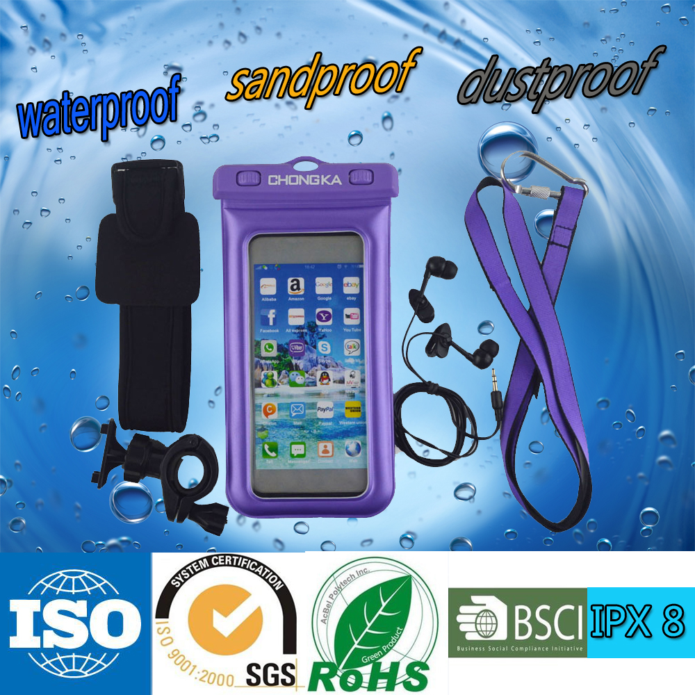 Low price multi-purpose waterproof mobile phone cases