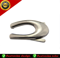 Metal decoration buckle for shoes and belts