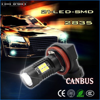 high power h11 led auto fog light H8,H19,H16,H10,9005,9006 10.5W 12v-24v yellow led fog light