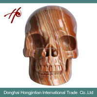 HJT-SK-4 Natural Crystal Skull Made in China Good Quality for Sale