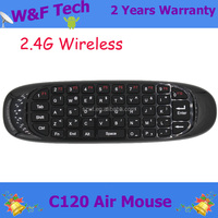 hot selling Somatic Games C120 AIR mouse keyboard 2.4Ghz Wireless keyboard C120 for android tv box / PC