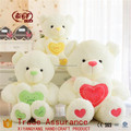 Stuffed soft plush bear with love heart nice gift toys New
