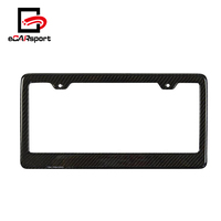 Car Accessory Carbon Fiber License Plate Frame