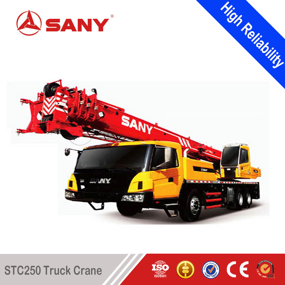 SANY STC250 25 Tons Small Hydraulic Sensitive Load Lifting Capacity Mobile Crane
