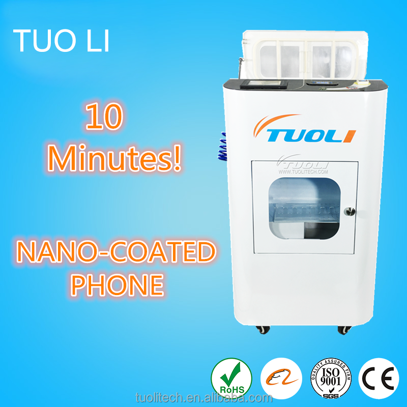 2016 Waterproof Nano Coating Machine for Mobile Protection from Water/Liquid Damage