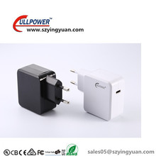 hot type c port usb charger adapter