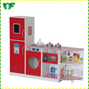 Wholesale kids wooden toy kitchen playset