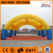 Customized outdoor party air inflatable dome tents for events