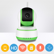 mini smart wireless alarm security system Android IOS phone control remotely wifi home CCTV ip camera