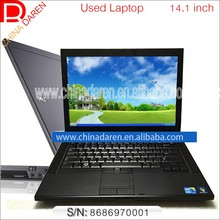 Clean Company used laptop 14 inch intel Core i5 520M 4G RAM 250G HDD with DVD Wifi webcam