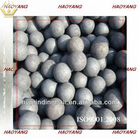 60-65HRC forged steel grinding ball used in the ball mills