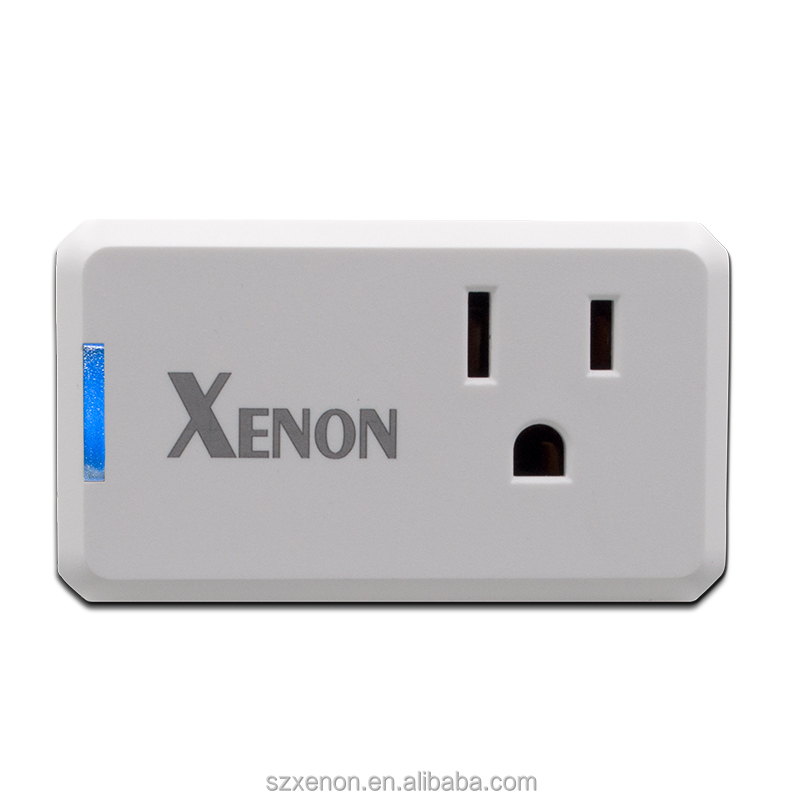 Xenon Mini Wireless Wifi Smart Plug Outlet,Control your Devices from Anywhere,Works with Amazon Alexa