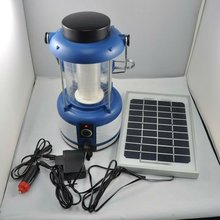 CE & RoHS36pcs, 4lumens/led Solar Panel+AC Charger Solar Rechargeable LED Light