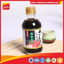 Japanese Soy Sauce OEM Seasoning Sauce for Japanese Cuisine